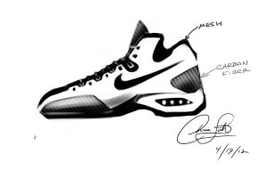 my nike shoe design by chrislah294