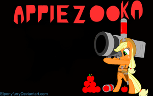 Applezooka! by ElPonyFurry