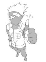 Kakashi Approves by Aikira-chan