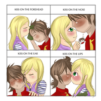 Cute Kissx4 meme-Takumi- by fireangel6