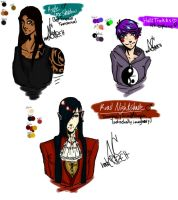 Schizophrenic Detective and Friends by norskCRAZEH