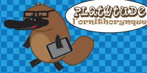 Platytude the platypus by Solointhematrix
