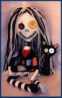 Spooky Patches Rag Doll by jazzy1453