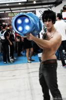 Gray Fullbuster Cosplay With Ice Make: Cannon! by GNefilim