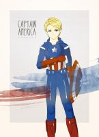 Captain America by Mini-Legion