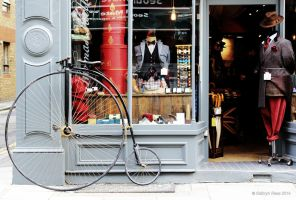Penny Farthing by KERphotography