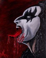 Gene Simmons by MadKreem
