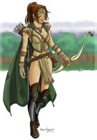 Ranger Woman by staino by White-Kitten