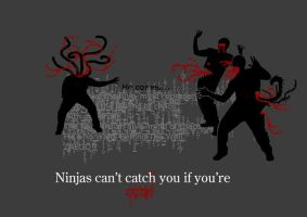 Ninjas can't catch you if ... by gsomv