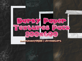 Darky Paper Textures Pack by sweethoney0822