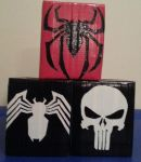 Marvel Tissue Boxes by DuctileCreations