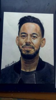 Mike Shinoda by Michele-Laporta