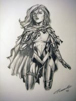 Hope Summers Drawing by cusT0M