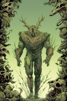 Brian Soriano's Swamp Thing Commish by Ross-A-Campbell