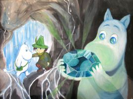 The Queen Emerald - Moomin by khossh