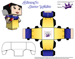 Disney's Princess Snow White Part 2 cubeecraft by SKGaleana