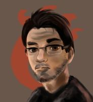Markiplier - Quick Painting by Tambergal