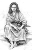 Old Art: Bouguereau Gypsy by LinzArcher