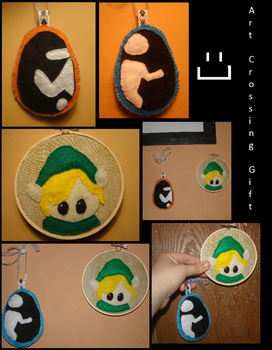 Portal/Link hoop ArtCrossing Gift by LilPKCreations