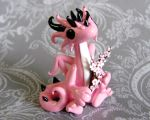 Cherry Blossom Dragon by DragonsAndBeasties