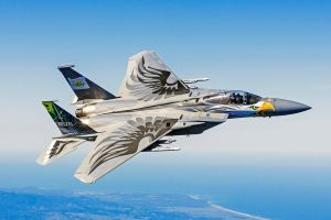McDonnell Douglas F-15C Eagle ORANG 75 Years by GeneralTate
