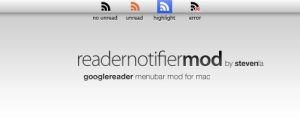 Reader Notifier Menubar Mod by mrwonderr
