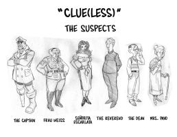 Scooby Doo: Clueless Suspects by TimLevins