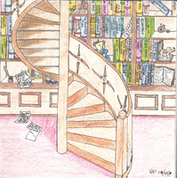 2016 Art Challenge - March - Library Secrets by Tamuril2