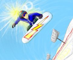 Halfpipe by doodle-guy7
