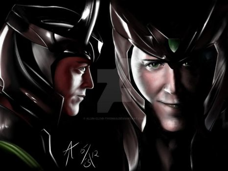 The God of Mischief by Alun-Clive-Thomas