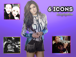 Pack icon Nina Dobrev. by Liasgraphics