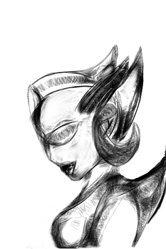 Ultra Lady Sketch by MyBrokenRoseUnfold