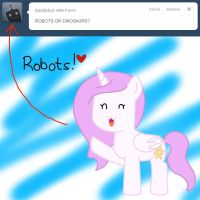 Robots or Dinosaurs? by Twenty-Two22