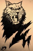 Tattoo - Sabertooth Tiger by SpaceCowboy-D