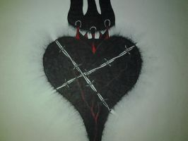 Blackened Heart by JohnnySuede
