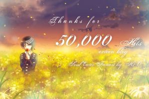 Soul Eater : THX for 50k Hits by H2O-kun