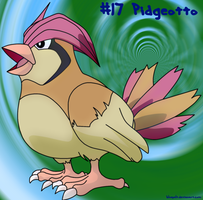 Pidgeotto by bluepelt