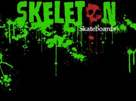Skeleton Skateboards Backgrnd by MaxDaMonkey