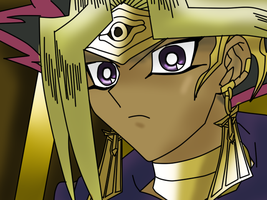 Pharaoh Atem by DrSpencerReidBietch