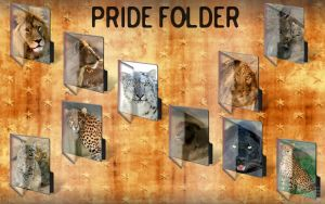 Big Cats: Pride Folder by centpushups