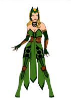 The Enchantress Redesign! by Comicbookguy54321