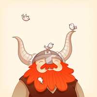 Happy Viking by enkana