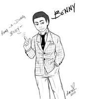 Fallout: New Vegas - Benny by 400-rabbits