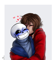 Smooch the skeleton by BanalRas