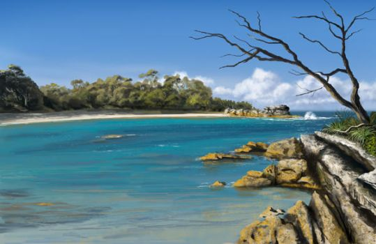Jervis Bay Australia by PixelFarmer