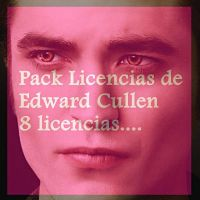 Licencias de Edward Cullen ( rar) by Carol05