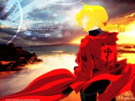FMA: When the Sun Looks Me by morfachas