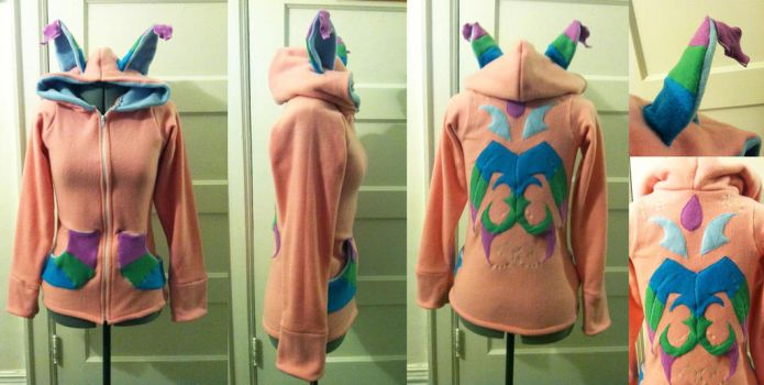 Zahara Hoodie Commission by Hasami-Designs