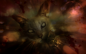 Zombie purrs by hallbe