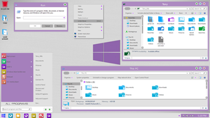 Windows 8.1 theme Metro Light by newthemes